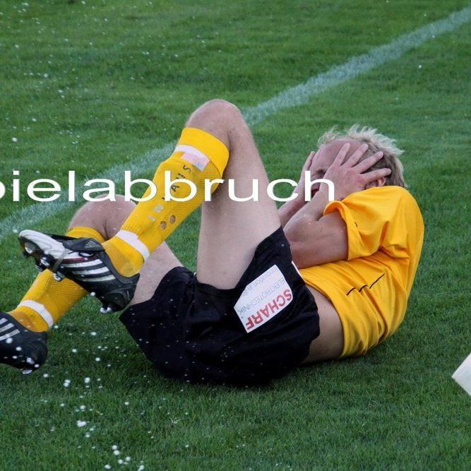 Das Spiel Alberschwende 1c gegen Hard 1b wurde nach einer Stunde Spielzeit abgebrochen.