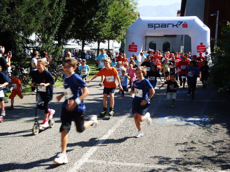 """""""Laufen für den guten Zweck"""" lautet das Motto beim 18. Stundenlauf der Lebenshilfe Dornbirn."""