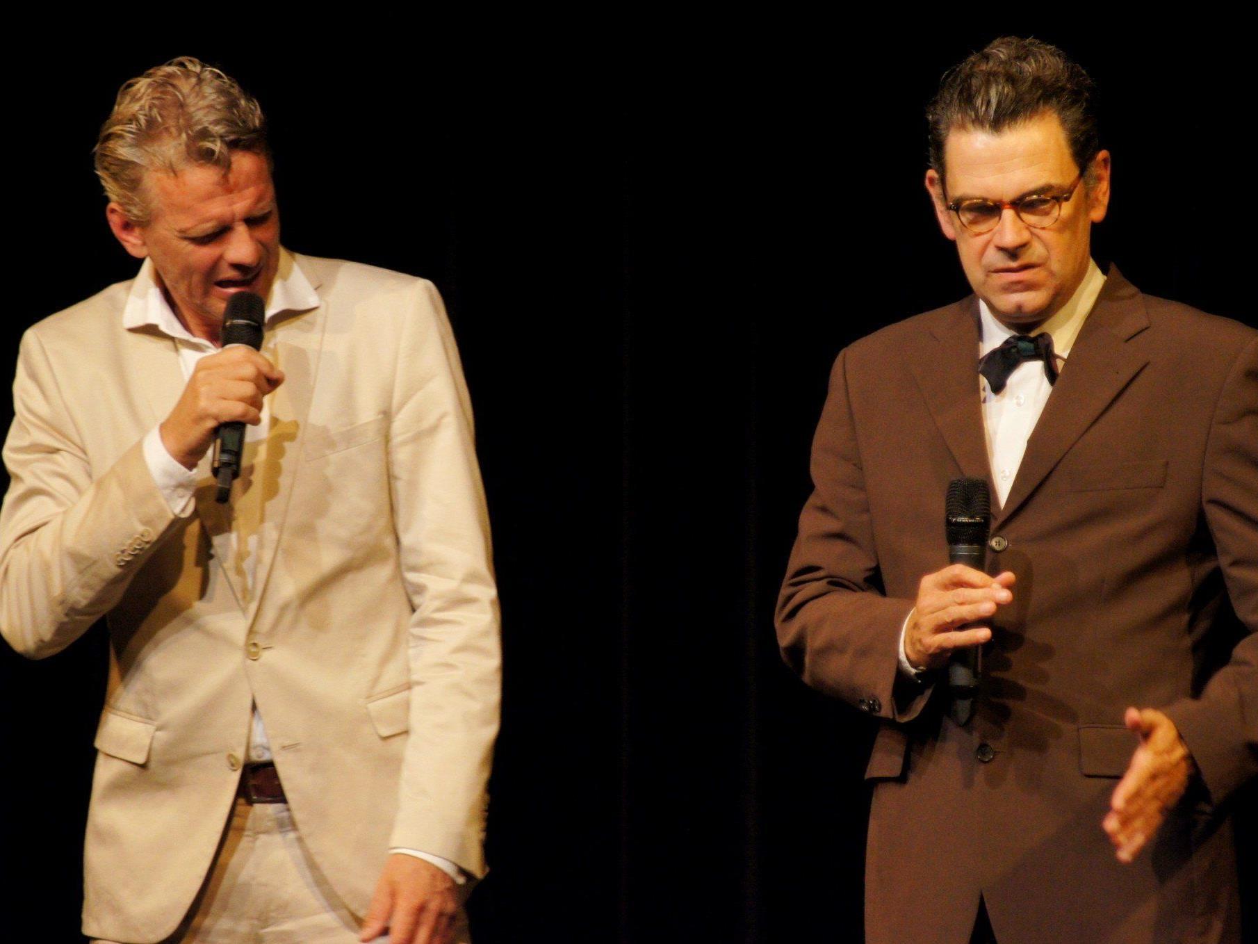 Rick van Nöten und Ferdinand Fachblatt moderierten mit viel Charme und Humor!
