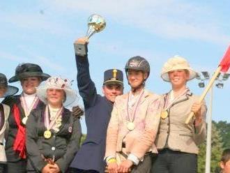 Gold gab es für das Team Austria mit Vanessa Schmid in Ungarn.