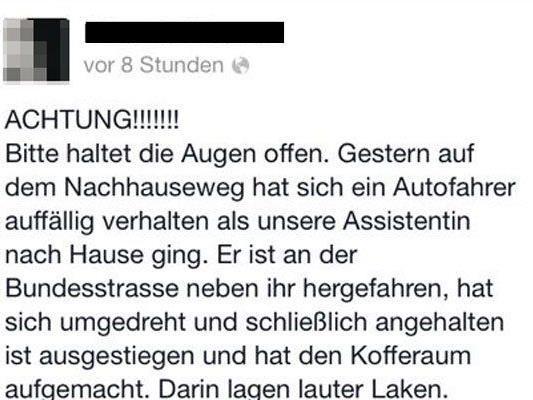 Laut der Polizei Telfs stehe der Bregenzer nicht in Verbindung mit den Vermisstenfällen.