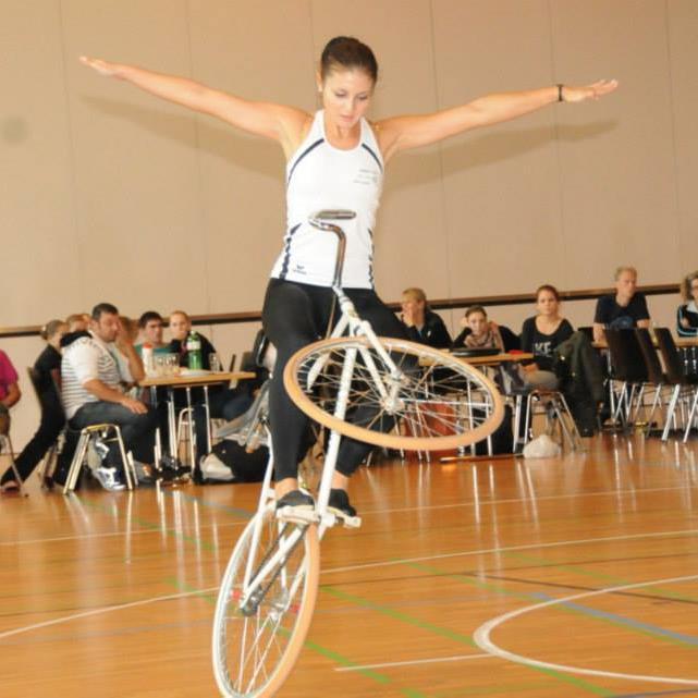 Die Meiningerin Adriana Mathis ist in Hohenems am Start.