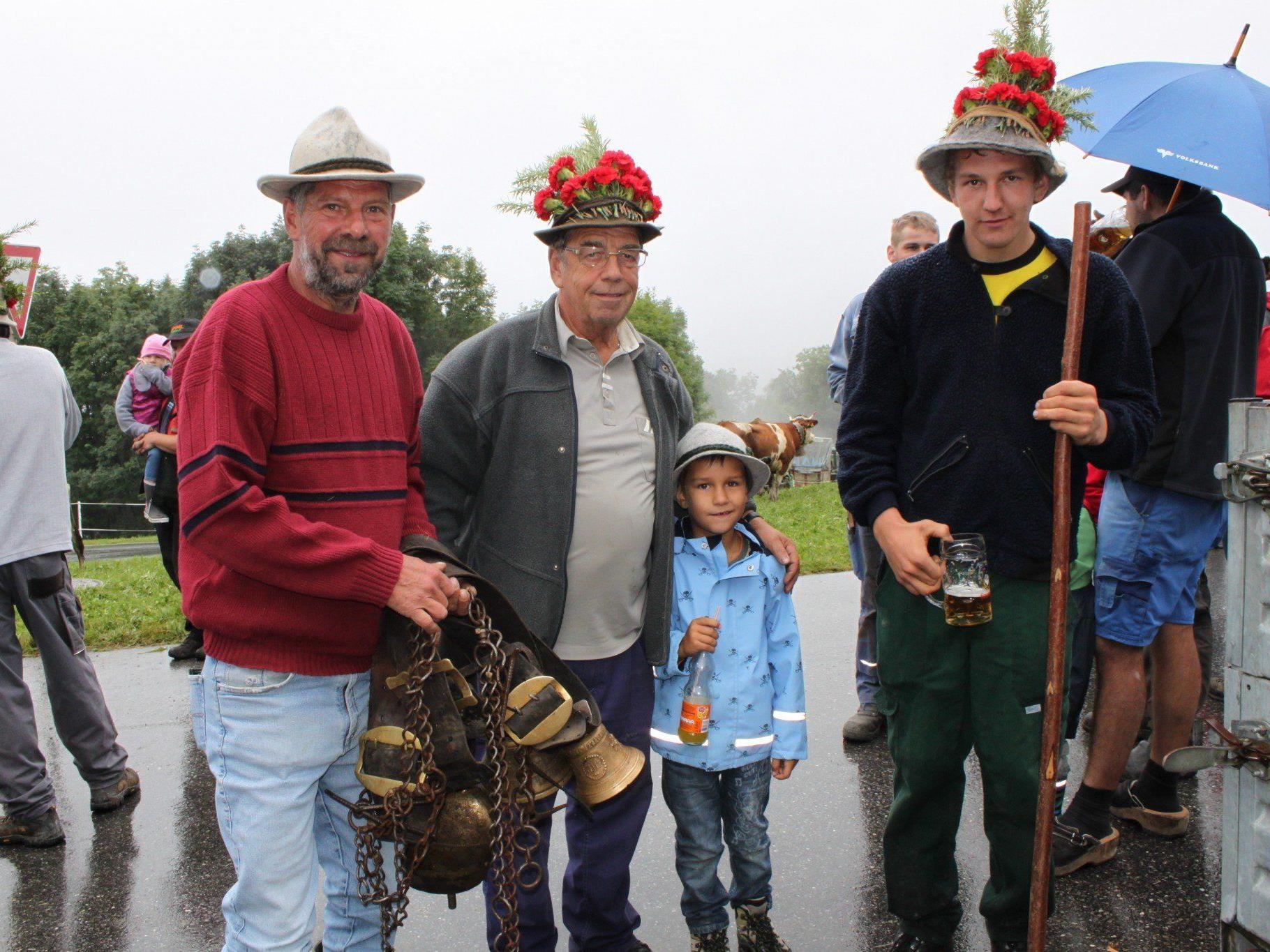 Feierliche Alpabfahrt in Fraxern am Samstag, 7. September.
