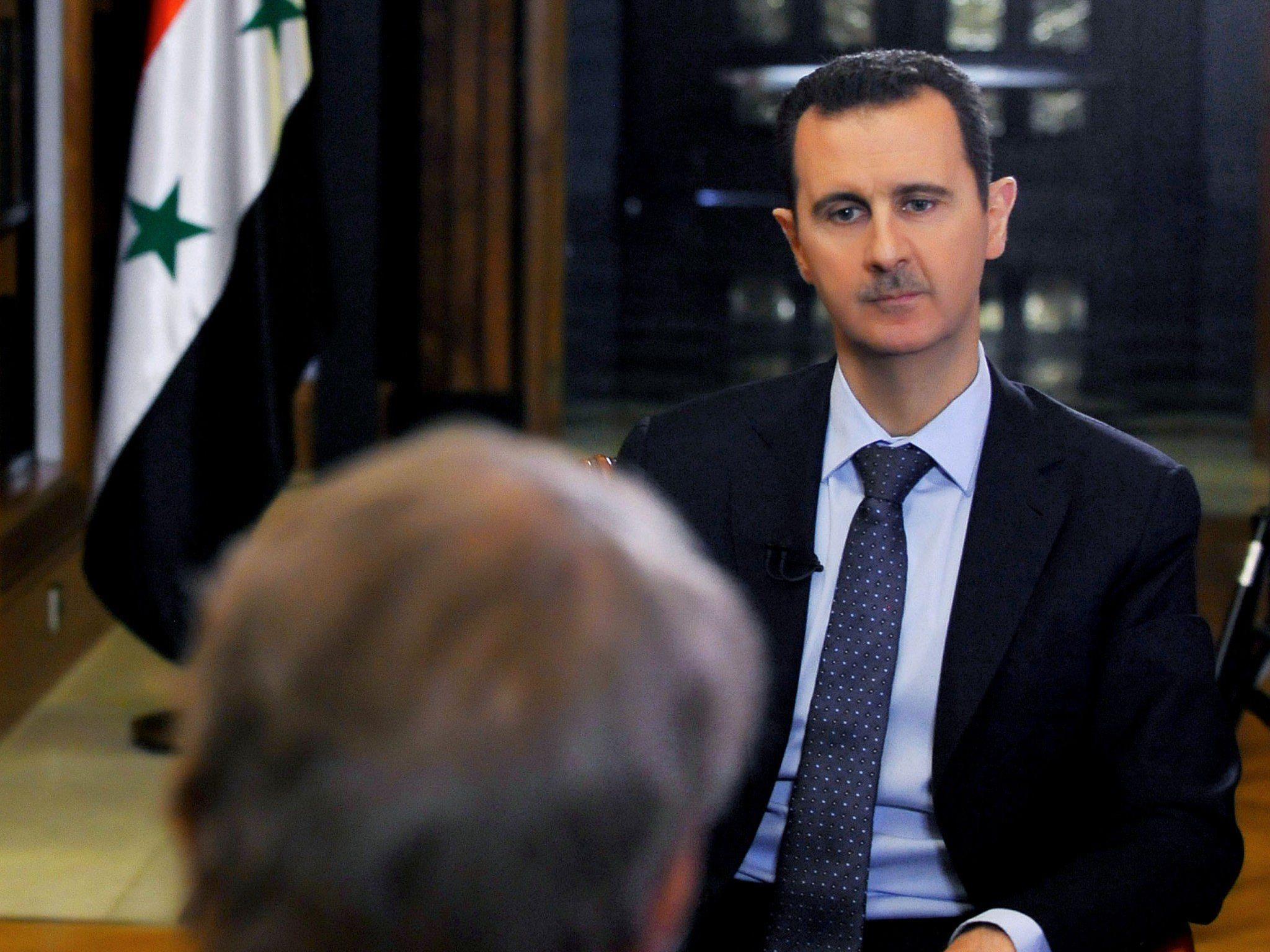 """Präsident Assad: """"US-Drohungen beeinflussen uns nicht"""""""