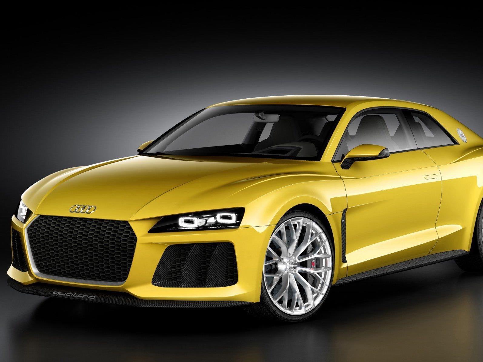 Auf der Frankfurter Auto Messe IAA werden die neusten Autos vorgestellt.