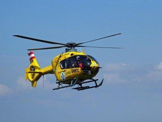Verletzter wurde ins Krankenhaus geflogen.
