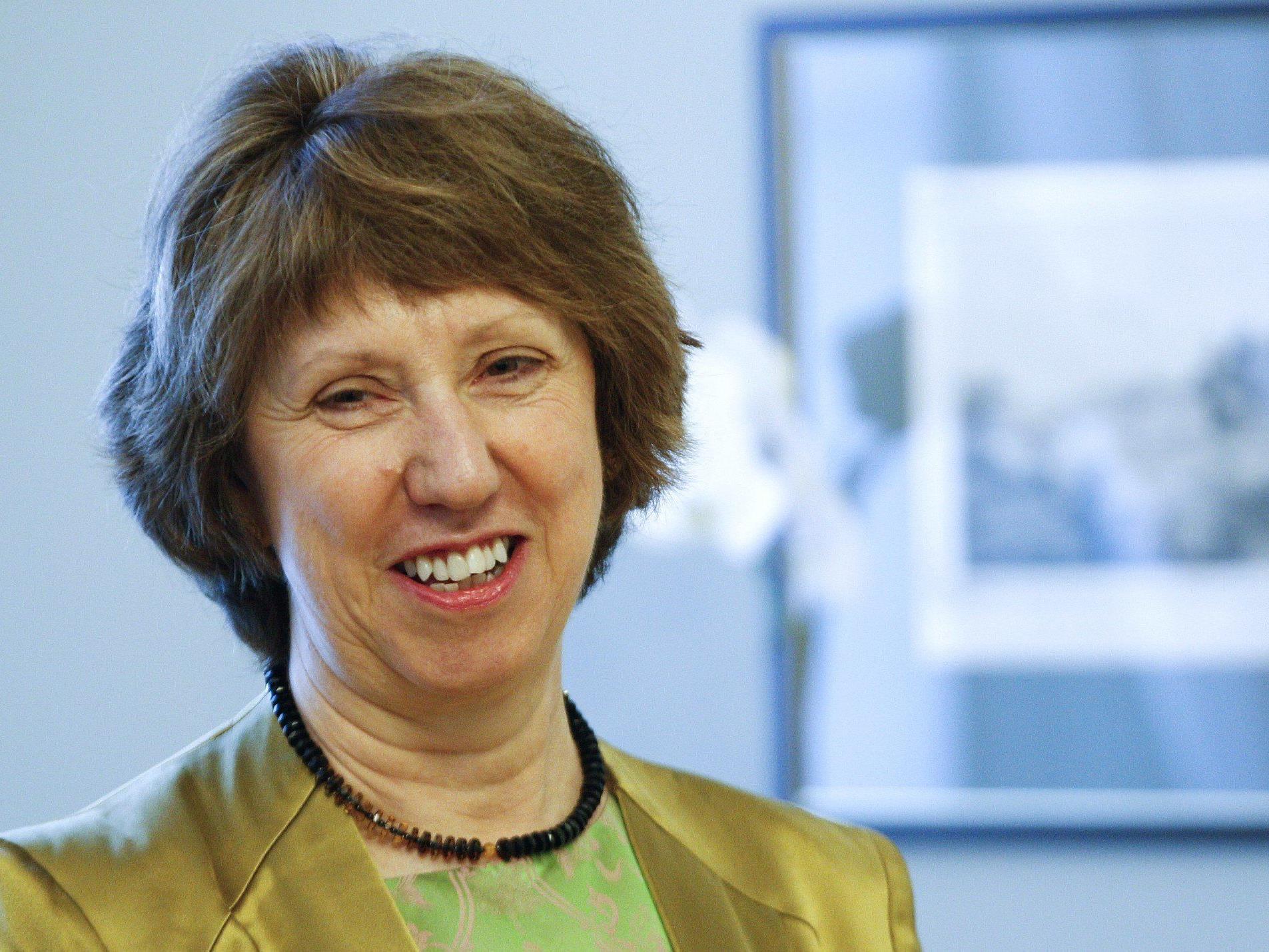 EU-Außenbeauftragte Catherine Ashton wird sich Ende September mit dem iranischen Außenminister treffen.