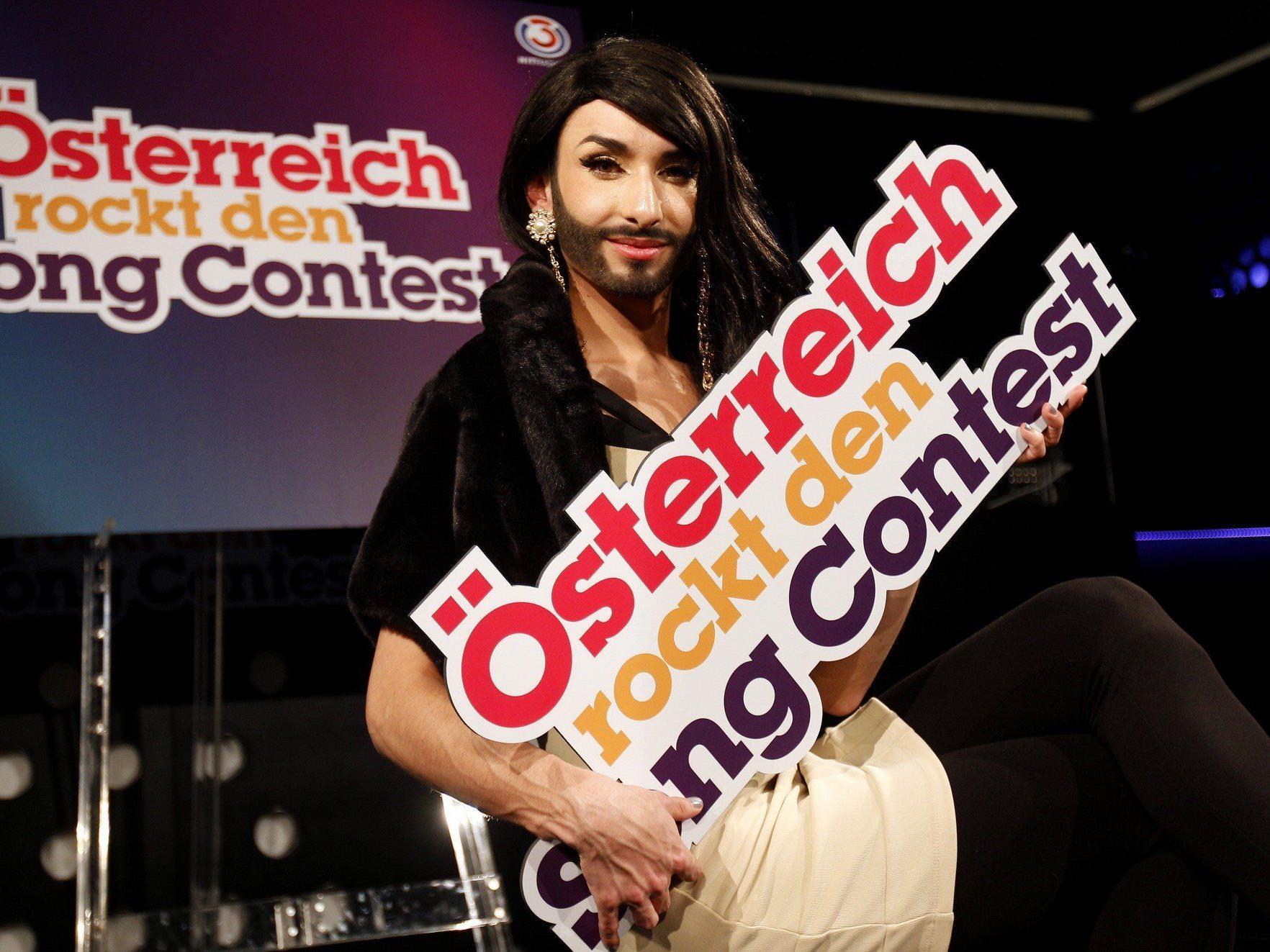Travestiekünstler war 2012 beim Vorentscheid auf Platz 2 gelandet.