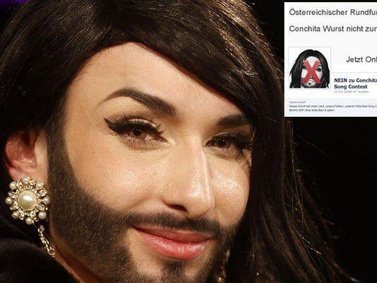 Conchita Wurst sieht sich massiven Anfeindungen ausgesetzt.