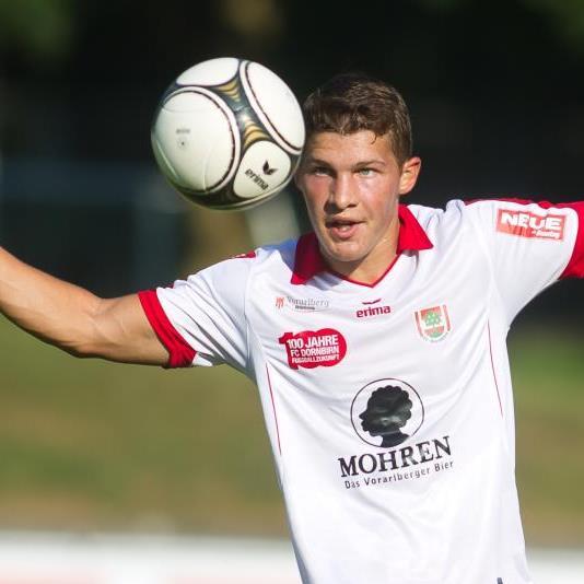 Dornbirn-Mittelfeldspieler Christoph Domig zählte beim 5:2-Derbysieg gegen Bregenz zu den Besten.