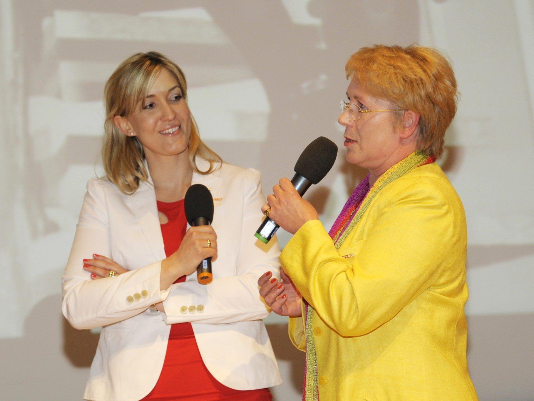 Evelyn Dorn, Vorsitzende von Frau in der Wirtschaft wird in Rankweil das Unternehmerinnenforum eröffnen.