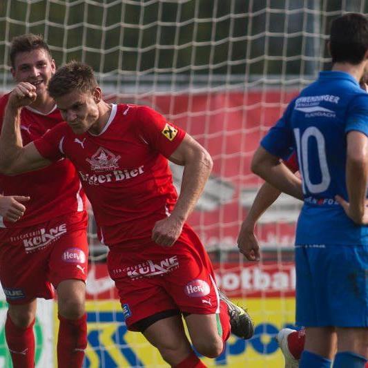 Egg spielte bei Neuling Admira Dornbirn 3:3-Remis, bleibt aber Tabellenführer der Vorarlbergliga.