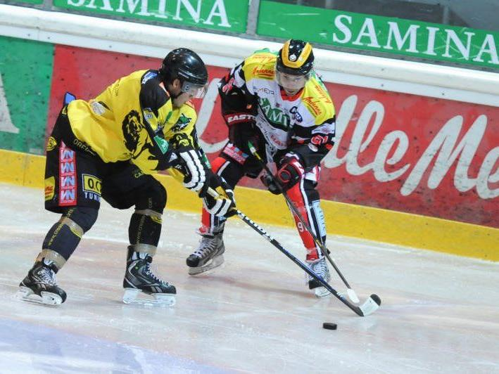 Der EHC Lustenau testet in Frauenfeld, Chris Harand spielt erstmals für die Löwen.