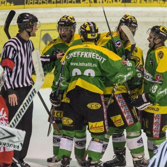 Zwei Siege feierte der EHC Lustenau gegen Gröden und Jesenice.