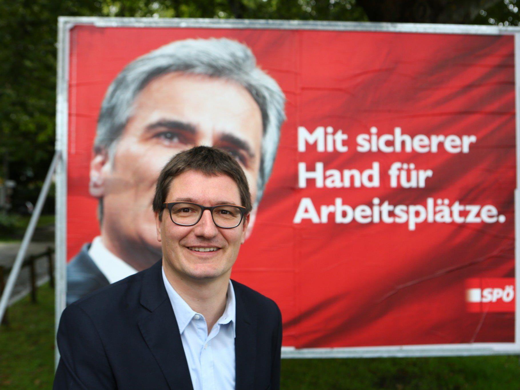 Einwallner will in Zukunft gegen jeden Plakatvandalismus Anzeige erstatten.