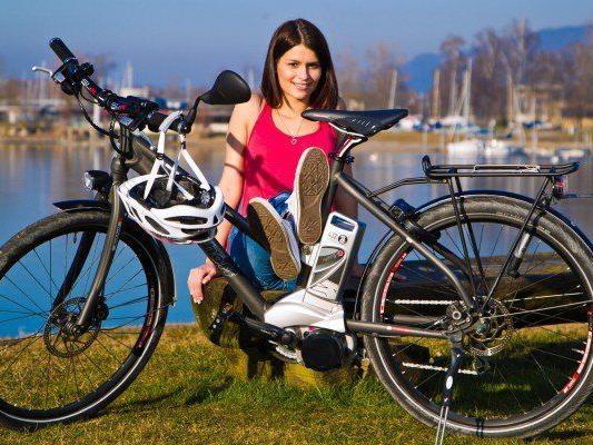 Vorarlberger sind begeisterte Fahrradfahrer.