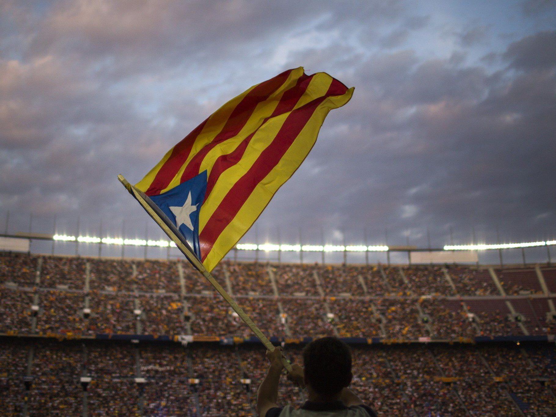 Die Katalanen möchten über die Unabhängigkeit von Spanien abstimmen.