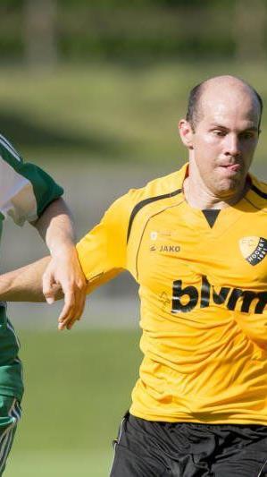 Mathias Mayer schoss für Höchst das Goldtor beim 1:0-Heimsieg gegen Eugendorf.