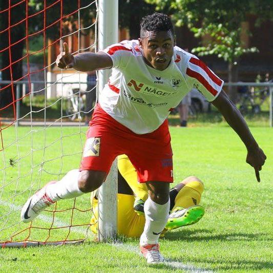 RW Rankweil-Stürmer Rafael Pereira ist gegen SC Röthis verletzungsbedingt noch fraglich.