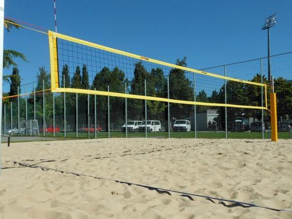 Der neue Beachvolleyballplatz steht ab Samstag der Bregenzer Jugend zur Verfügung.