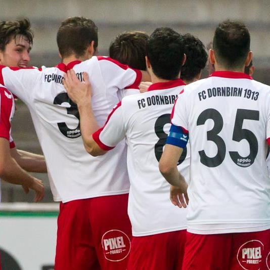 Dornbirn durfte im Auswärtsspiel in Schwaz über einen Punkt jubeln.