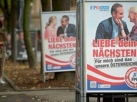 """Die FPÖ hat Anzeige wegen eines """"Anschlags"""" erstattet."""