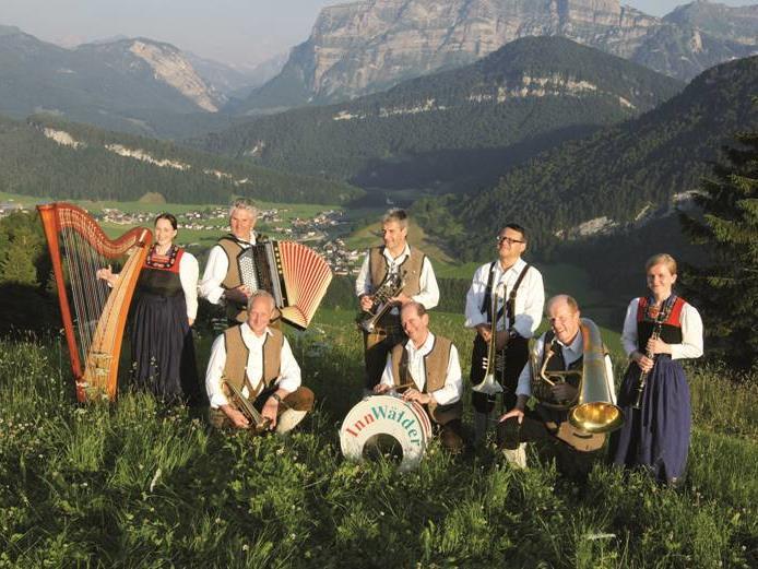 """Die """"Innwälder"""" beim Volksmusikabend in Schwarzenberg"""