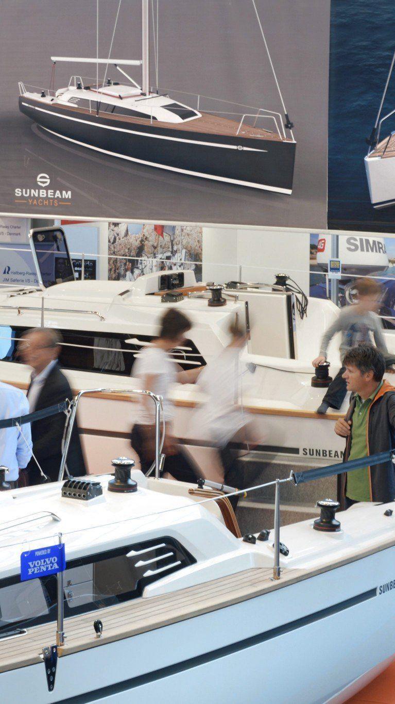 488 Aussteller aus 20 Nationen präsentieren noch bis Sonntag ihre Produkte auf der Interboot.