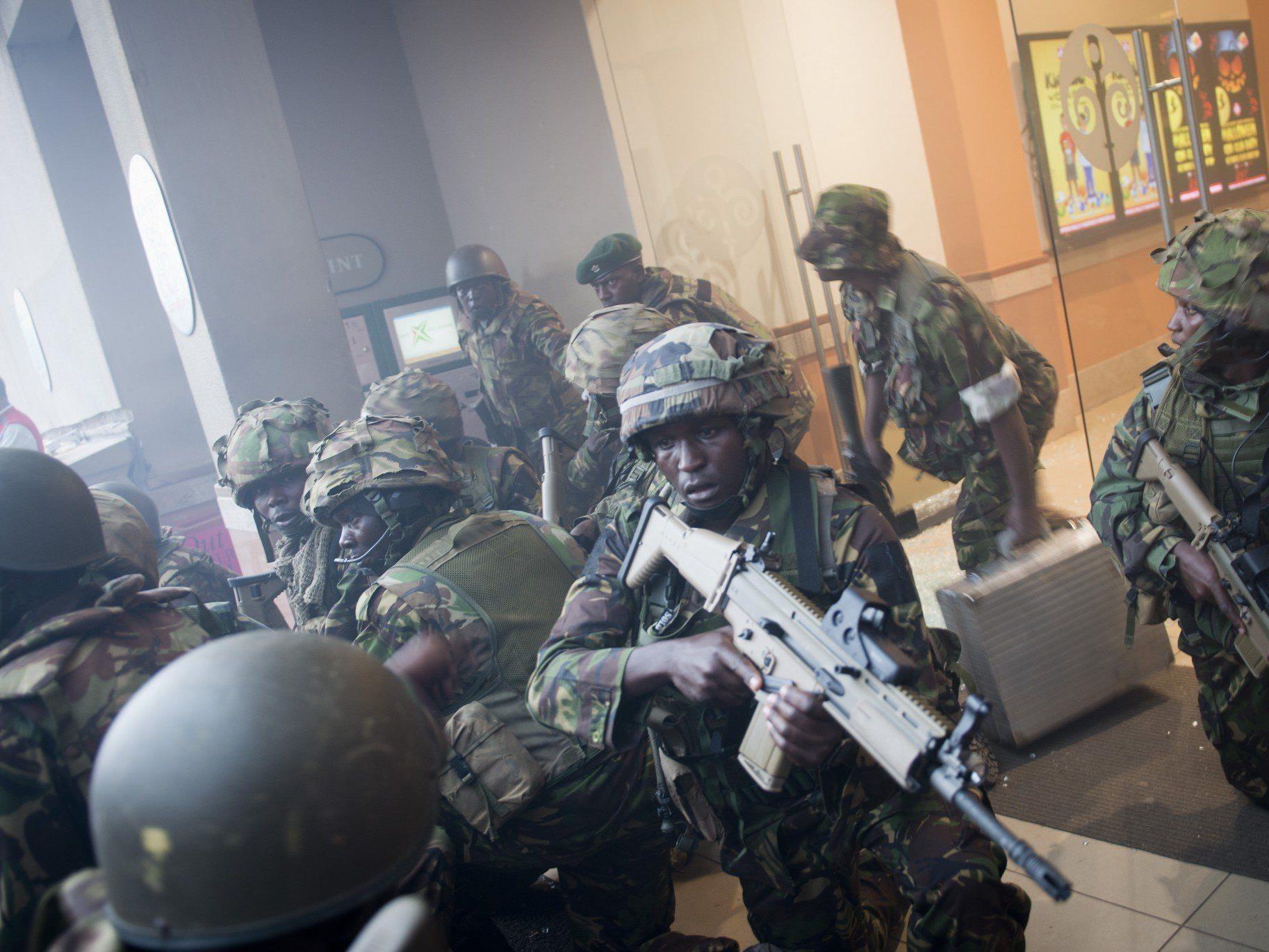 Mindestens 30 Menschen in Einkaufszentrum von Nairobi getötet