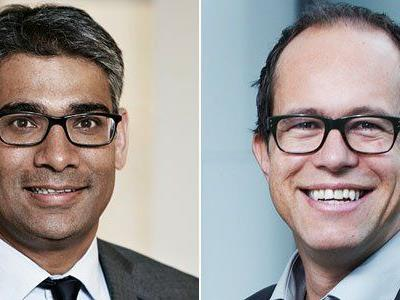 """business events"" am 2. Oktober mit Omar Rehman und Sergej Kreibich (v.l.)"