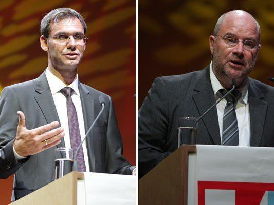 Markus Wallner und Andreas Rudigier strichen die Veränderungen heraus, die Eva Grabherr angestoßen hat.