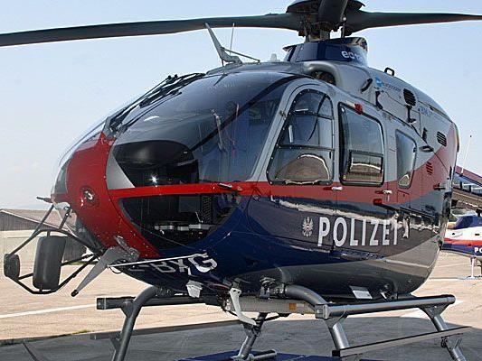 Polizeihubschrauber rettete Alpinisten.