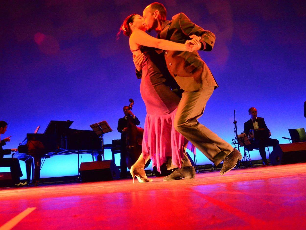 Die Tangolehrer Martin Birnbaumer und Claudia Grava begeisterten vor zwei Wochen im Festspielhaus.