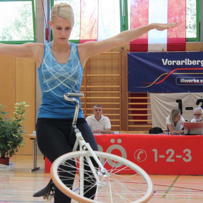 Die Meiningerin Melanie Mörth hofft auf eine Teilnahme an der Weltmeisterschaft.