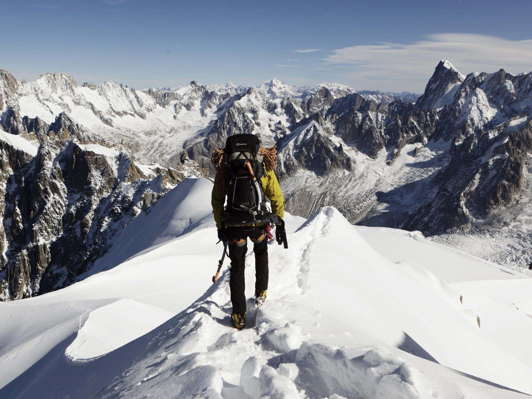 Bergsteiger findet auf Mont Blanc Edelsteine im Wert von