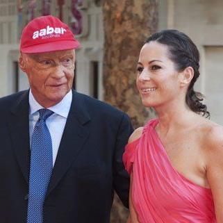 Überraschend besuchte Niki Lauda (hier bei der Weltpremiere in London) auch das Filmfestival in Toronto.