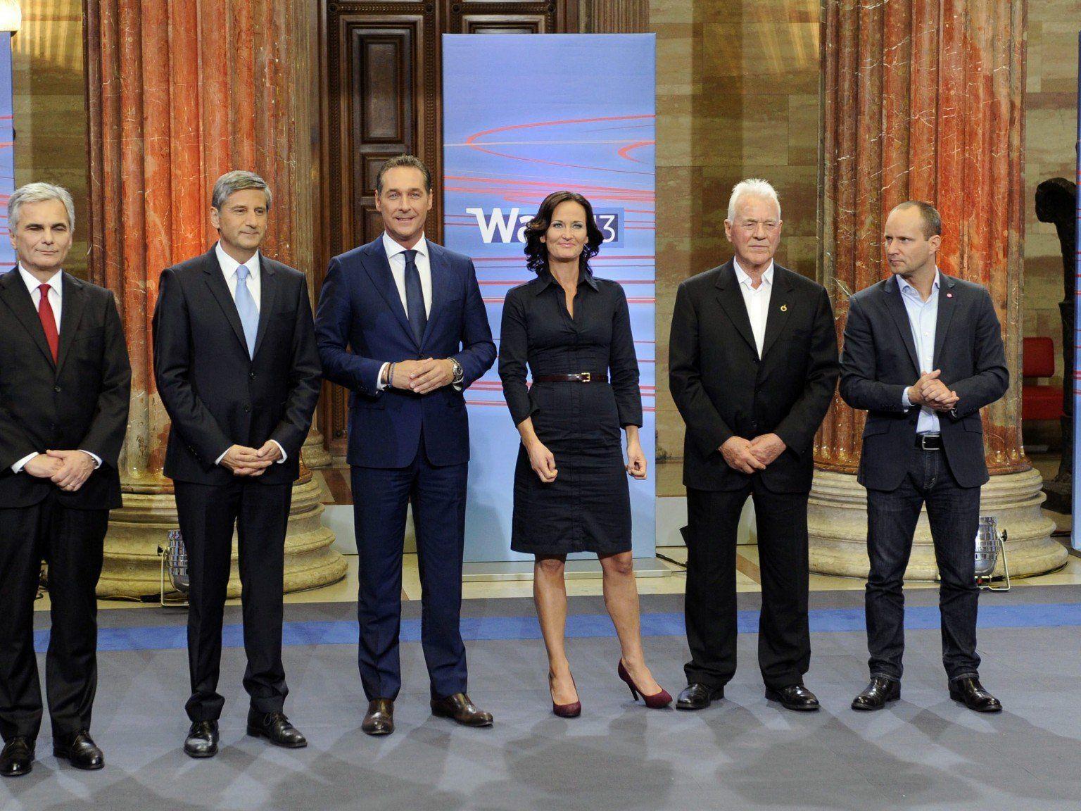 SP-VP-Mehrheit - NEOS im Parlament, BZÖ scheitert.