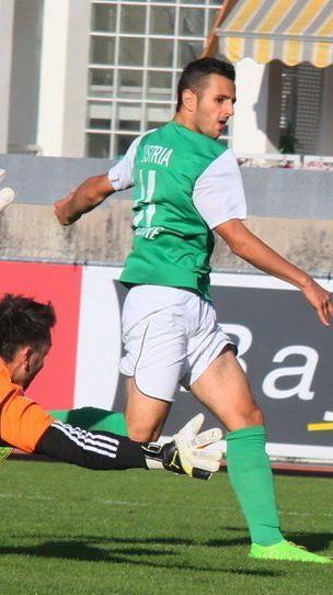 Yusuf Özüyer traf im Doppelpack beim 2:1-Heimsieg der Austria Lustenau Amateure gegen Lauterach.