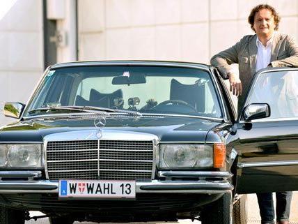 """""""Die Wahlfahrt"""": Hanno Settele on the road mit Eva Glawischnig und Heinz-Christian Strache"""