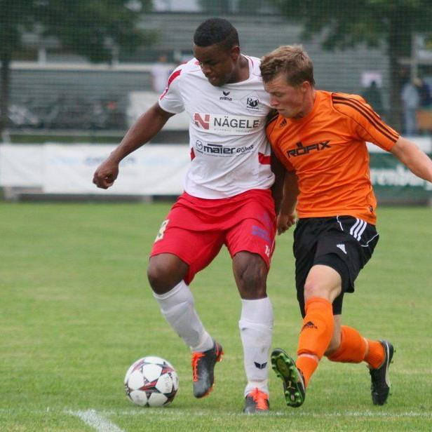 Rafael Godoi Pereira erzielte per Kopf die 1:0-Führung für Rankweil im Vorderlandderby gegen Röthis.
