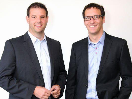 Christof Abbrederis (l.) und Daniel Marte (r.).