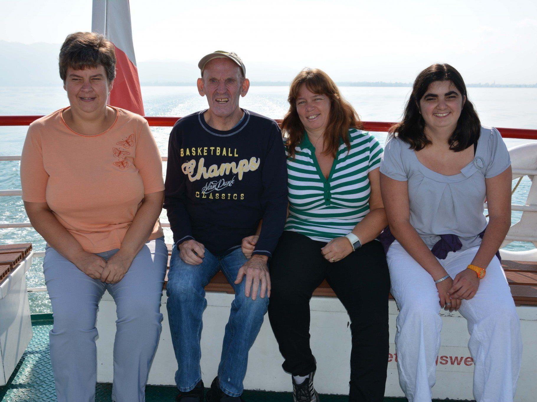 """Einen tollen Tag auf """"hoher"""" See verbrachten 150 Menschen mit Behinderung und ihre BetreuerInnen."""