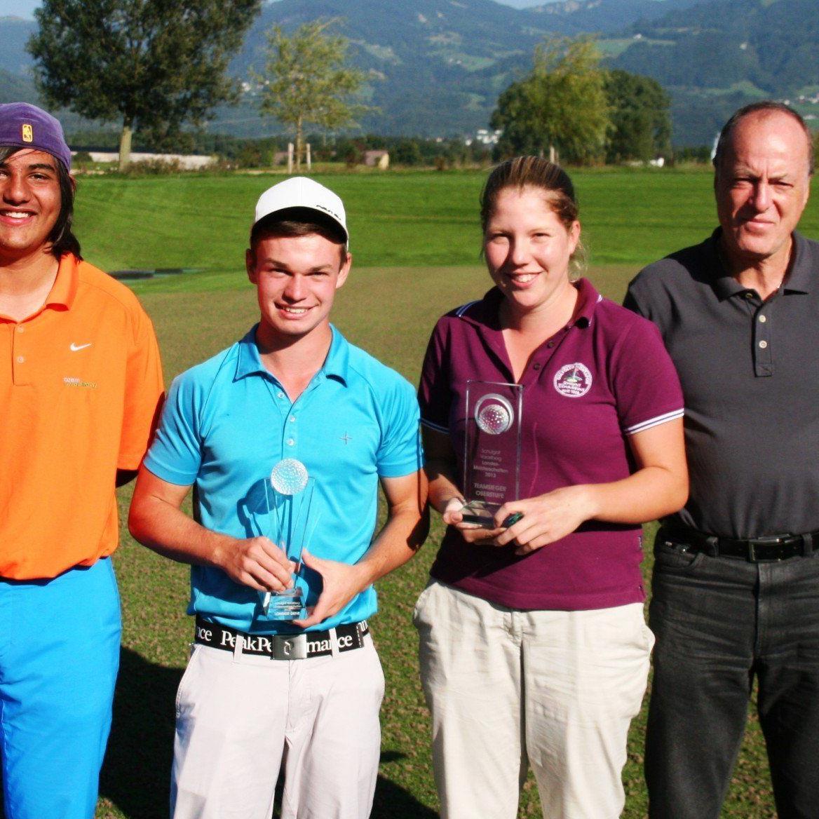 Die HAK Bludenz holte sich souverän den Schul-Golfmeistertitel in Vorarlberg.