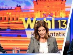 Michael Spindelegger und HC Strache im TV-Duell bei Ingrid Thurnher.
