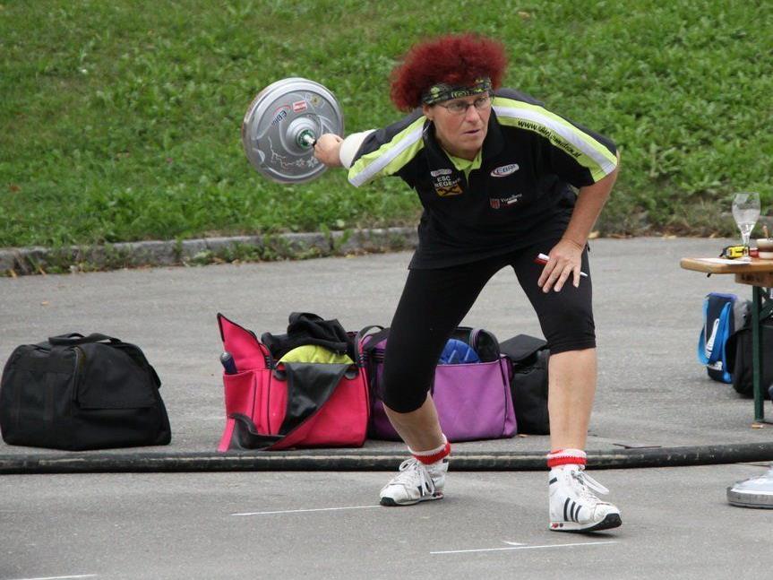 Die Bregenzerin Susi Sohm Armellini wurde Dritte bei den Landestitelkämpfen in Rankweil.
