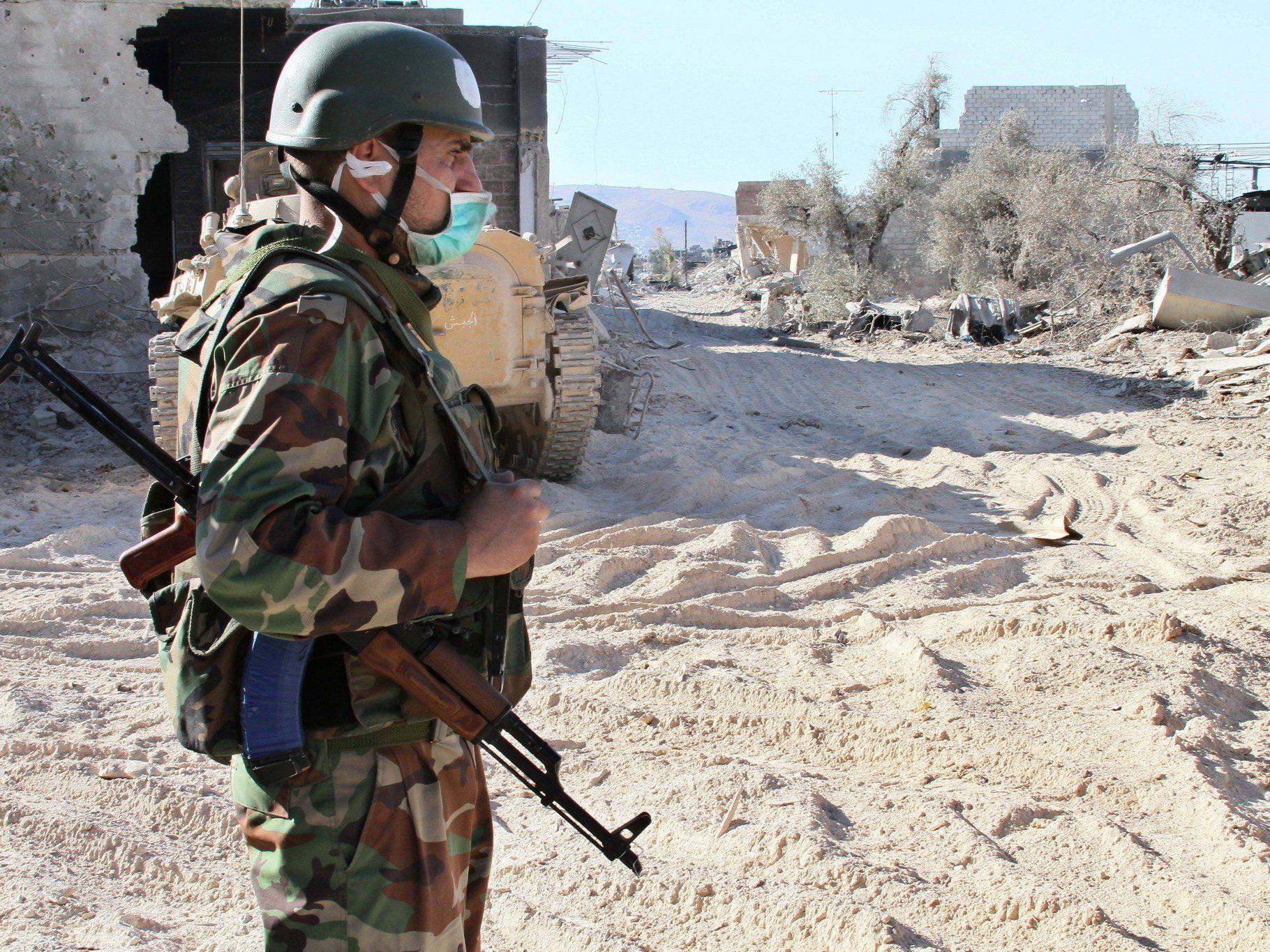 """Giftgas-Einsatz in Syrien: US-Geheimdienste haben """"hohe Gewissheit"""""""