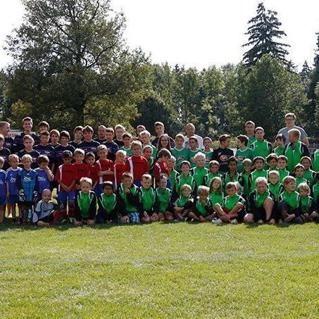 Über hundert Nachwuchsspieler werden beim FC Renault Malin Sulz ausgebildet.