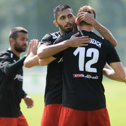 Einen 8:3-Heimsieg feierte Schwarzach gegen Thüringen, fünf Tore fielen in der zweiten Hälfte.