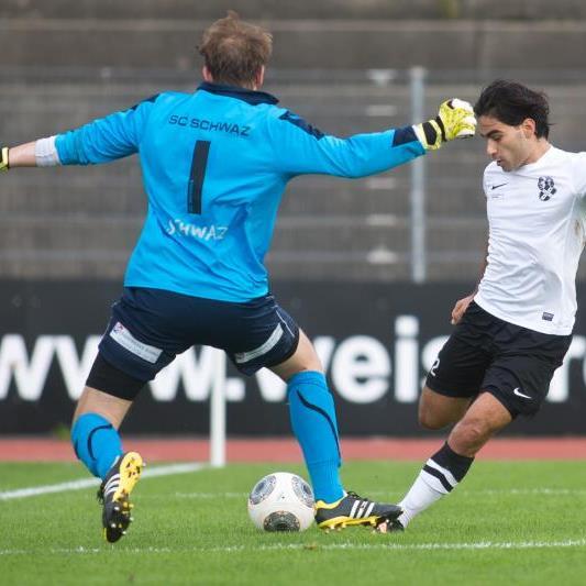 Lokman Topduman blieb gegen Schwaz ohne Torerfolg und Bregenz verlor mit 0:2.