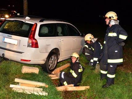 Glücklicherweise wurde niemand bei dem Unfall verletzt.